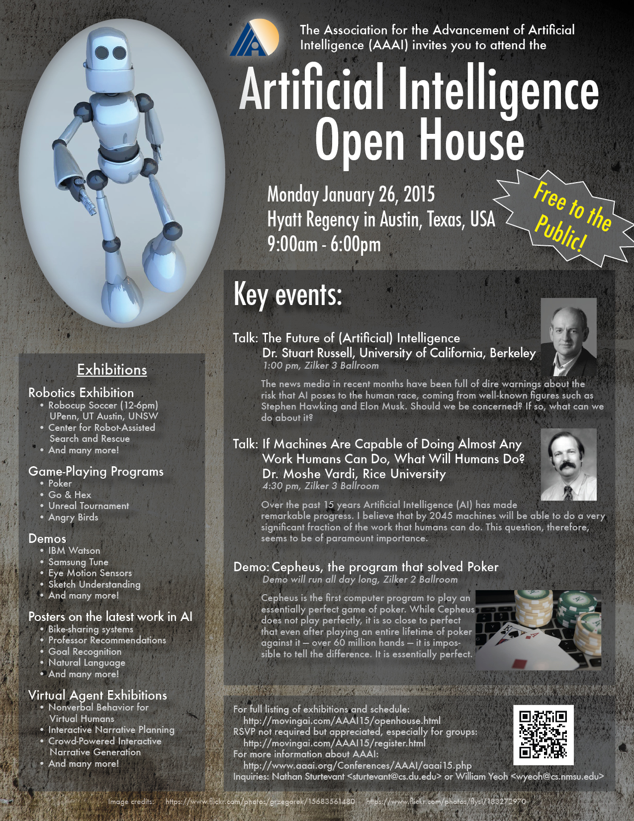 aaai 2015 open house page